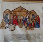 Keepsake Crafts NATIVITY SCENE Cranston Print Works Sewing Panel Christmas