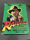 1981 Topps Raiders of the Lost Ark Movie Cards Wax Box 36 Unopened Packs