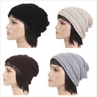 Fashionable Unisex Women's Men's Knitted  Autumn Winter Warm Twisty Beanie Hat