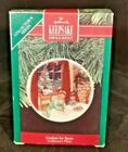 Hallmark Keepsake Ornament ~ Cookies For Santa Collector's Plate 1990