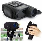 LaserWorks Day And Night Multifunction Laser Rangefinder Night Vision Black