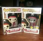 Funko Pop Disney Pirates Of The Caribbean Jolly Roger SDCC & Parks Exclusive set
