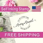 Personalized Self inking Return Address Stamp Wedding Or Housewarming Gift AS121