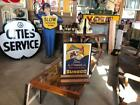 Sunoco Time To Change to Summer Oil, advertisement *Rare Antique Sign/Ad.