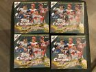 2018 Topps Chrome Update Series Lot of (4) MEGA BOX Factory Sealed Retail Boxes