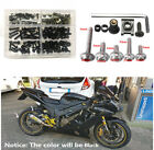 1 Set Motorcycle Fairing Bolts& M5 M6 Washers&Spanner&Truss Screws &Speed Clips