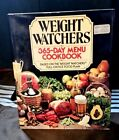 Weight Watchers 365 Day Menu Cookbook Vintage Hardcover with Dust Jacket 1981
