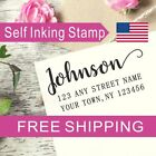 Return Address Stamp With last name Wedding Housewarming Family House Gift AS137