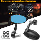 2pcs CNC Motorcycle Bar End Rearview Side Mirrors Portable For Street Triple