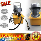 Electric Driven Hydraulic Pump 10000PSI Single Acting 750W Oil Capacity 7L 110V