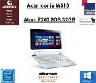Acer Iconia W510 KD1 Tablet Laptop Intel Atom Z2760 180GHz 2GB 32GB Win 10