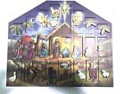 Byers Choice Christmas Nativity Advent Calendar Solid Wood