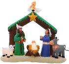 Nativity Scene 7 ft Inflatable Nativity Scene