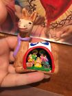 Colorful Peruvian Clay Holy Family Nativity Scene Llama Decoration Ayacucho Peru