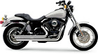 Cobra 6858 Speedster Slashdown Exhaust for Harley Dyna Low Rider Wide Glide