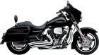 Cobra 6230 Speedster Short Swept Exhaust for Harley Street Glide Road Glide