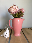 Vintage Fiesta Coffee Pitcher in Rose Pink 36 ounce