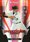 2005 Donruss Power Alley Red Die Cut Marlins Baseball Card 18 Mike Lowell 250