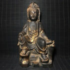 Marvelous Amazing Archaic Chinese Bronze Buddha Seated Statue Sculpture Marked