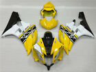 IT Yellow White Fairing Fit for Yamaha 2006 2007 YZF R6 Injection Mold ABS d039