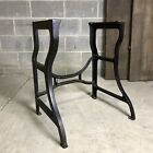 Antique Cast Iron Table Base American Vintage Industrial Desk Legs Furniture