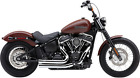 Cobra 6712 909 Speedster Exhaust for 2018 Harley Deluxe Street Bob Low Rider