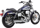 Cobra 6469 PowerPro 4 Inch RPT 2 to 1 Exhaust for Harley Street Bob Wide Glide