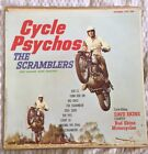 The Scramblers Cycle Psychos Rare Album Cover ONLY Free Shipping