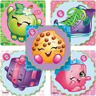 20 Shopkins STICKERS Party Favors Supplies Birthday Treat Loot Bags Teacher