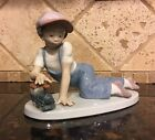 Lladro 1992 Collector's Society All Aboard 7619 Retired Mint Authentic