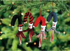 12 Snowman Candy Cane Covers Christmas Tree Ornaments Gift Exchange