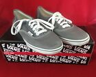 Vans Authentic Lo Pro Unisex Shoes Pewter True White Sneakers SZ 65