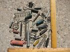 Vintage INDUSTRIAL RUSTY IRON COIL SPRING STEAMPUNK ART LOT Lamp Project