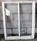 Antique Victorian Two Pane Window Sash -C 1870 Orig. Glass Architectural Salvage