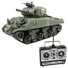 Fisca RC Tank 15 Channel Remote Control 1:20 USA Sherman M4A3 Main Battle Tank M