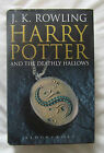 HARRY POTTER AND THE DEATHLY HALLOWS JK ROWLING ADULT EDITION HBwDJ PRISTINE Ist