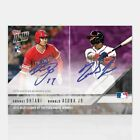 2018 Topps NOW Shohei Ohtani, Ronald Acuna Jr ROY Rookie of Year DUAL AUTO # 25