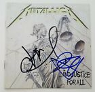 Kirk Hammett & Jason Newsted Signed Metallica And Justice For All CD Booklet RAD