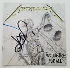 Jason Newsted Signed Metallica And Justice For All CD Booklet Metal Legend RAD