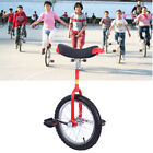 16 20 Unicycle Uni Cycle Balance Exercise Fun Bike Fitness Scooter Children