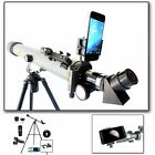 Brand NEW Cassini 800mm x 60mm Astronomical Telescope w Smartphone Adapter