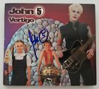 John 5 Signed Vertigo CD Digipak Booklet Rob Zombie Rock LEGEND RAD