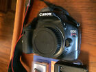 Canon EOS Rebel T2i Kiss x4 550D Body + charger 32gb SDHC  New Battery