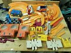 HOT WHEELS Track Lot Loops Corners Dual Lane Speedometer 1960s BUNDLE VTG