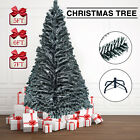 Artificial Christmas Tree Pine Xmas Tree Holiday Decoration Black Tips White End