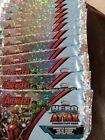 Marvel Avengers Topps hero Attax trading cards 11brand new packets