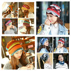 Ladies winter hat oversized beanie ponytail buff sport ski snowboard womens.