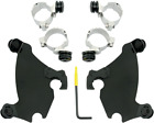 Memphis MEB1981 Gauntlet Fairing Black Mount Kit for 1986-03 Harley XLH 883