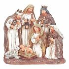 Holy Family Three Kings And Animal Friend 5 x 6 Resin Christmas Nativity Scene