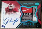 2012 Upper Deck Exquisite Football Rookie Autograph Patch Visual Guide 37